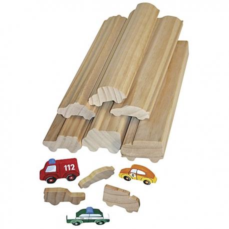 Profi-drevá na techniku