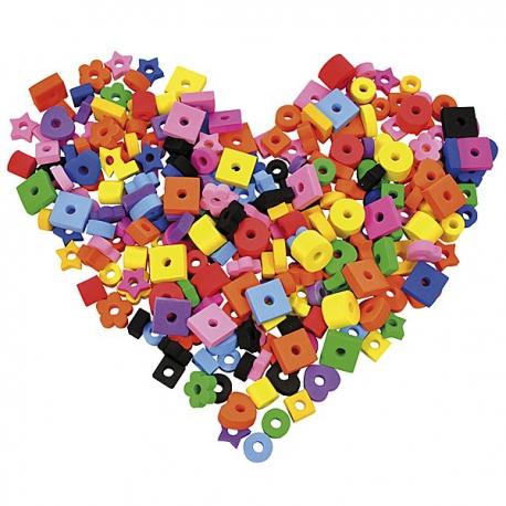 Perličky z penovej gumy 250 ks