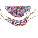 Drevené farebné perličky 250 g