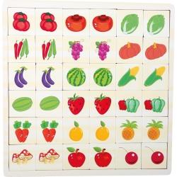 Puzzle a pexeso ovocie