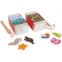 Hra rybolov v krabičke