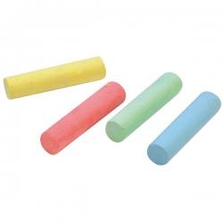Farebné kriedy vo vedierku