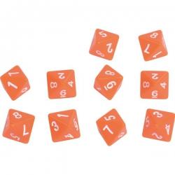 Kocka čísla 1 - 8