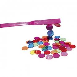 Magnetická palička s 50 krúžkami