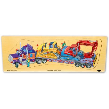 Puzzle nákladné auto