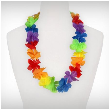 Kvetinový náhrdelník - Hawai