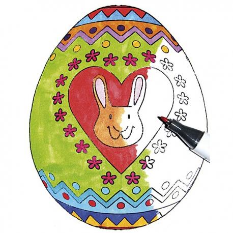 Mega-pečiatka veľkonočný zajac