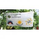 Banner z bavlny