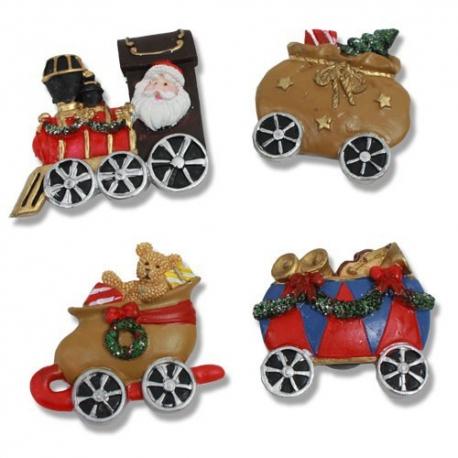Magnetický vianočný vlak