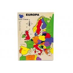 "Puzzle ""Mapa Európy"""