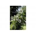 Drevené hviezdičky 3 ks