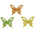 Dekoračné motýliky 4 cm
